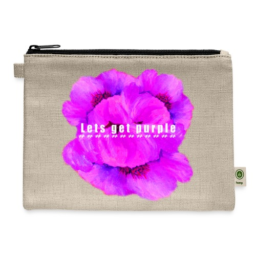 lets_get_purple_2 - Carry All Pouch