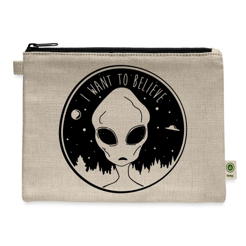 I Want To Believe - Carry All Pouch