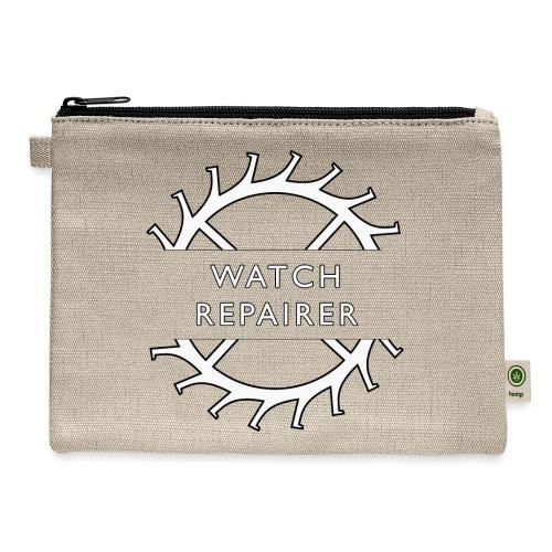 Watch Repairer Emblem - Carry All Pouch