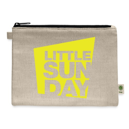 littleSUNDAY Official Logo - Carry All Pouch