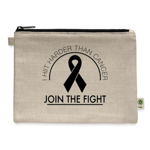 Breast Cancer Design 2 - Carry All Pouch