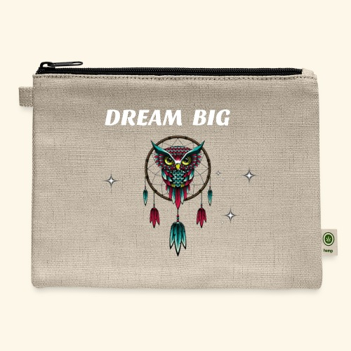 DREAM BIG OWL - Carry All Pouch