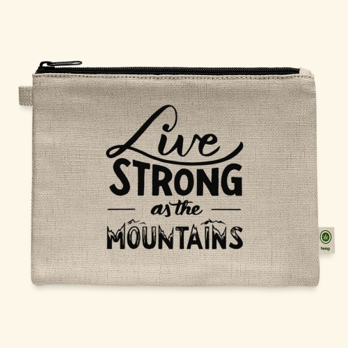 LIVE STRONG - Carry All Pouch