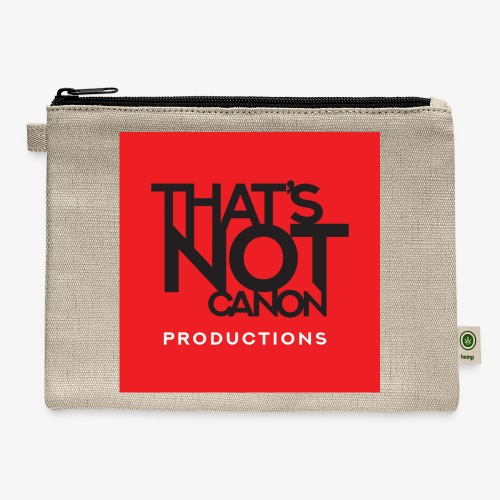 That's Not Canon Logo - Carry All Pouch