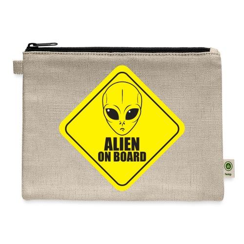 Alien on Board - Carry All Pouch