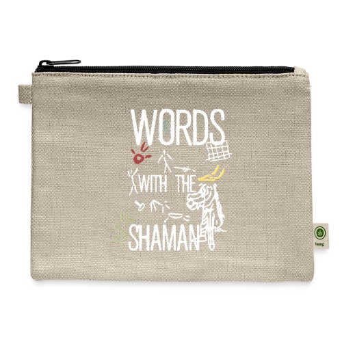 Words with the Shaman - Carry All Pouch