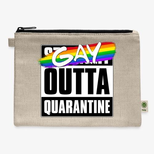 Gay Outta Quarantine - LGBTQ Pride - Carry All Pouch