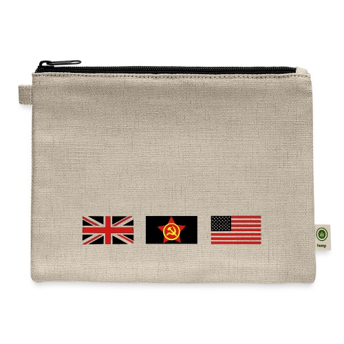 3 ALLIES flags - Carry All Pouch