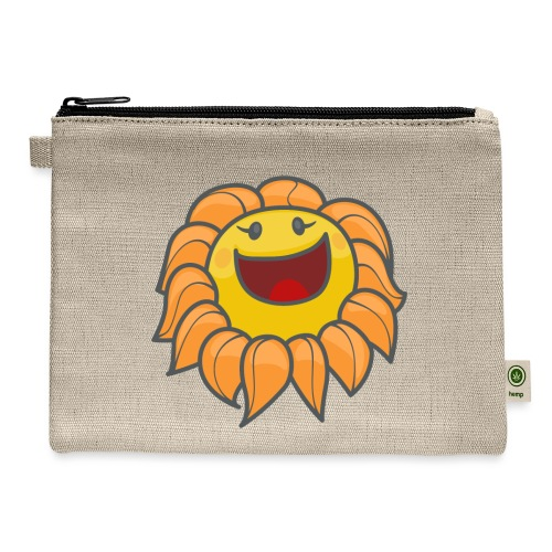 Happy sunflower - Carry All Pouch