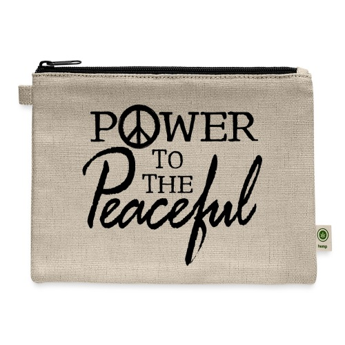Power To The Peaceful - Carry All Pouch