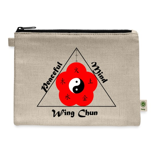 Peaceful Mind Vector - Carry All Pouch