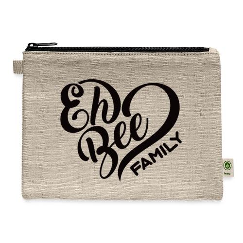 EhBeeBlackLRG - Carry All Pouch