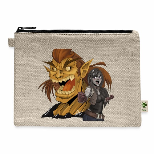 Fighter and the Demon - Carry All Pouch