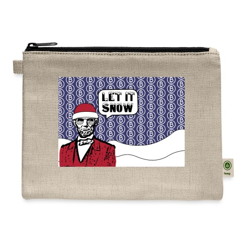 Let it snow bitcoin - Carry All Pouch