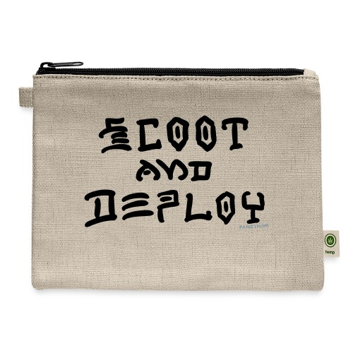 Scoot and Deploy - Carry All Pouch