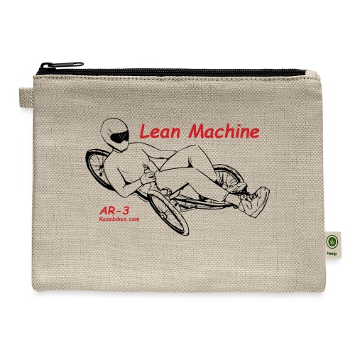 The Lean Machine AR-3 Black & Red - Carry All Pouch