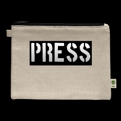 THIS is your PRESS PASS to the WORLD! - Carry All Pouch