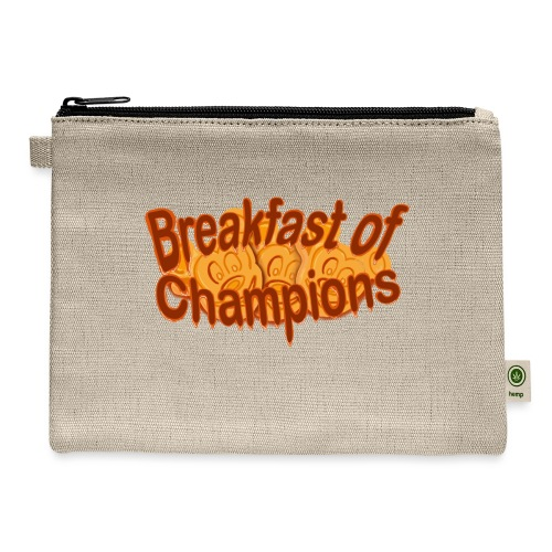 Breakfast of Champions - Carry All Pouch