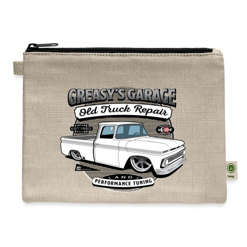 Greasy's Garage Old Truck Repair - Carry All Pouch