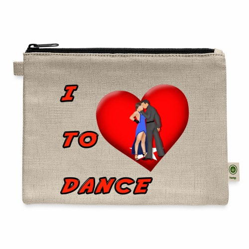 I Heart Dance - Carry All Pouch