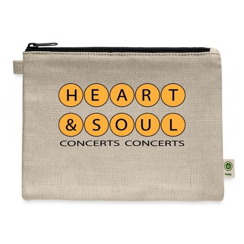 Heart Soul Concerts Golden Bubble horizon - Carry All Pouch