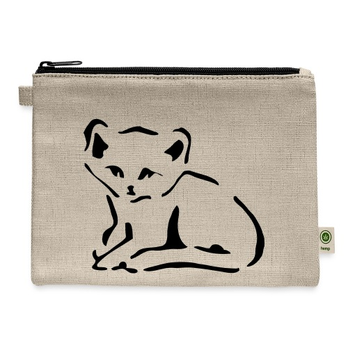 Kitty Cat - Carry All Pouch