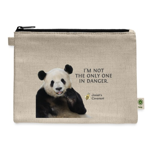 Endangered Pandas - Josiah's Covenant - Carry All Pouch