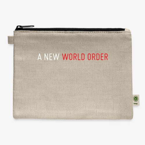 A New World Order Logo - Carry All Pouch