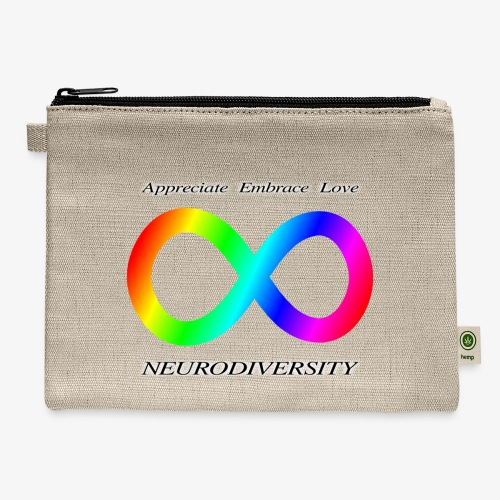 Embrace Neurodiversity - Carry All Pouch