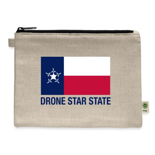 Drone Star State - Long Sleeve - Carry All Pouch