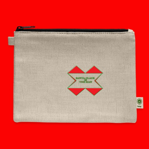 SANTA CLAUS IS THE MAN - Carry All Pouch