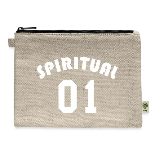 Spiritual 01 - Team Design (White Letters) - Carry All Pouch
