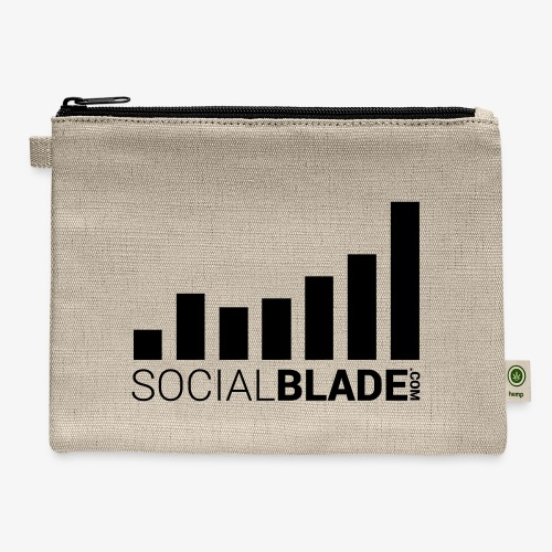 Socialblade (Dark) - Carry All Pouch