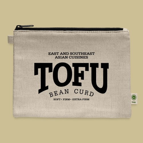 Tofu (black) - Carry All Pouch