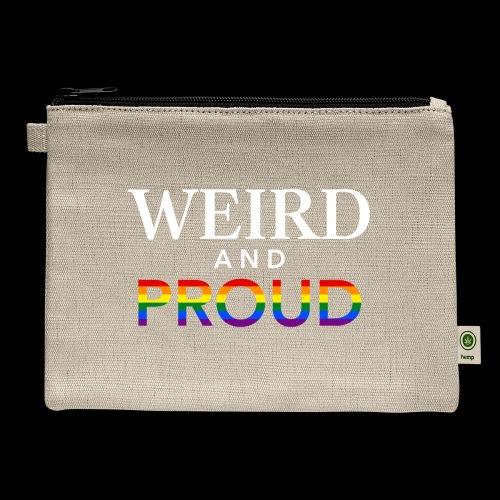 Weird Proud - Carry All Pouch