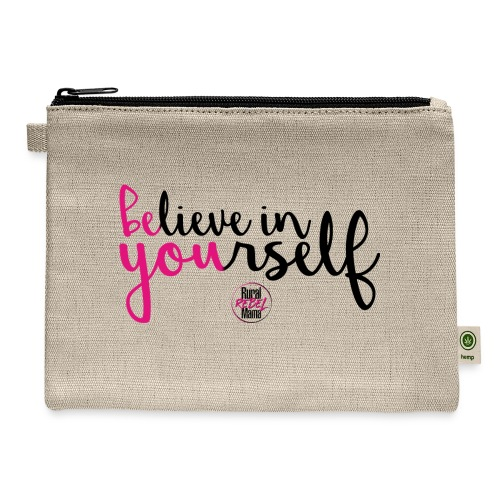 BE YOU shirt design w logo - Carry All Pouch
