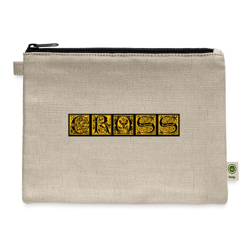 Cr0ss Gold-Out logo - Carry All Pouch