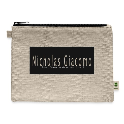 Nick_logo_shirt - Carry All Pouch