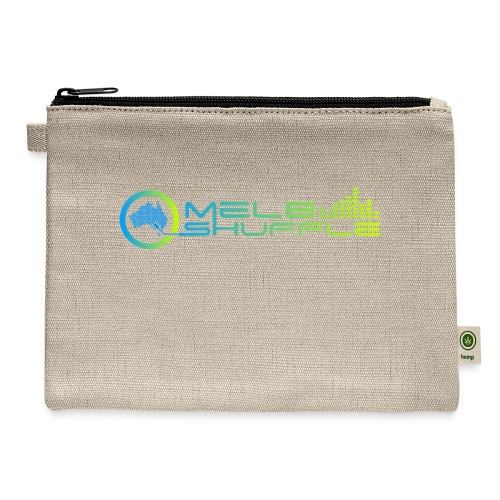 Melbshuffle Gradient Logo - Carry All Pouch