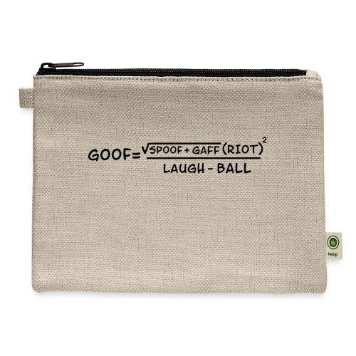 gaff text3 - Carry All Pouch