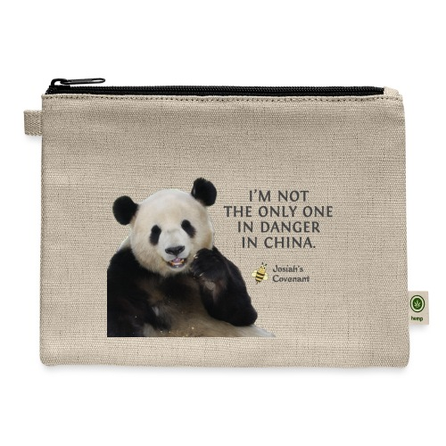 Endangered Pandas - Carry All Pouch