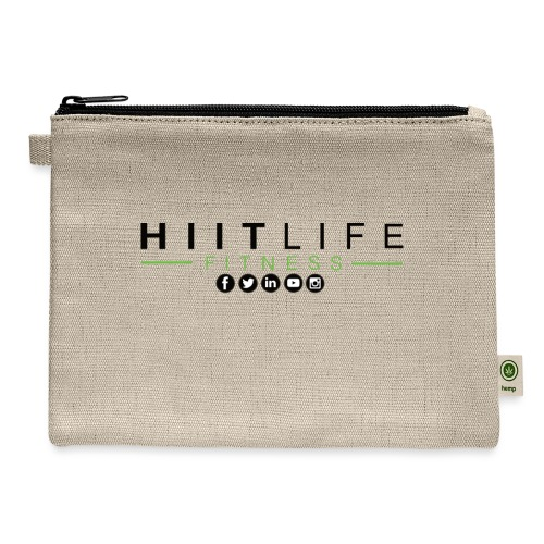 HLFLogosocial - Carry All Pouch