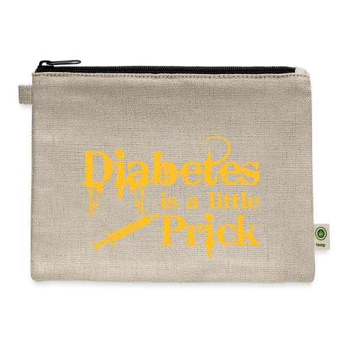 Diabetes Is A Little Prick - Carry All Pouch