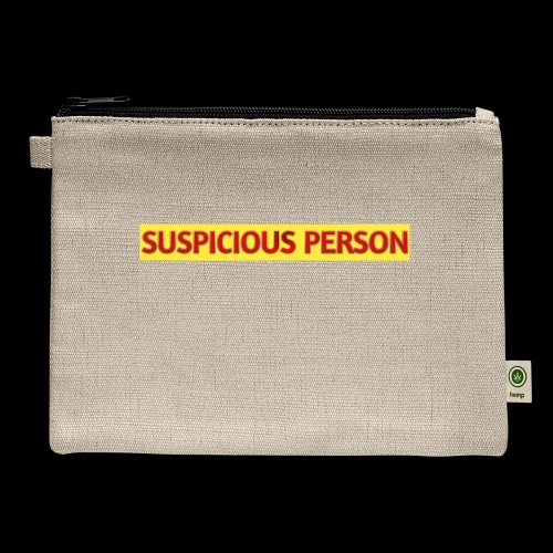 YOU ARE SUSPECT & SUSPICIOUS - Carry All Pouch