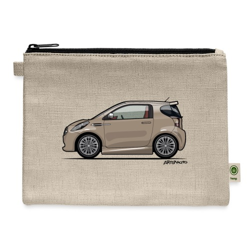 AM Cygnet Blonde Metallic Micro Car - Carry All Pouch