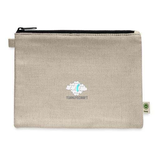 TurkiyeCarft Cloud Logo - Carry All Pouch