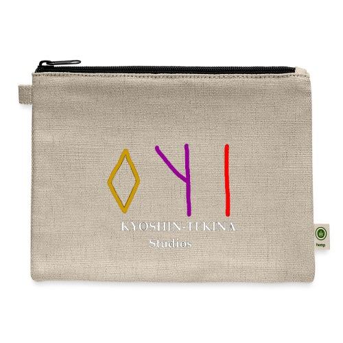 Kyoshin-Tekina Studios logo (white text) - Carry All Pouch