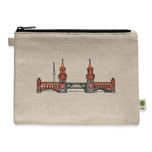 Oberbaum Bridge Berlin - Carry All Pouch