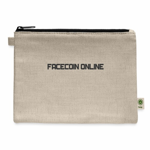 facecoin online dark - Carry All Pouch