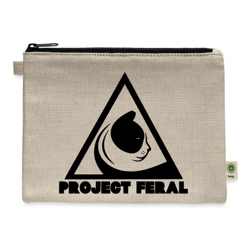 Project feral fundraiser - Carry All Pouch